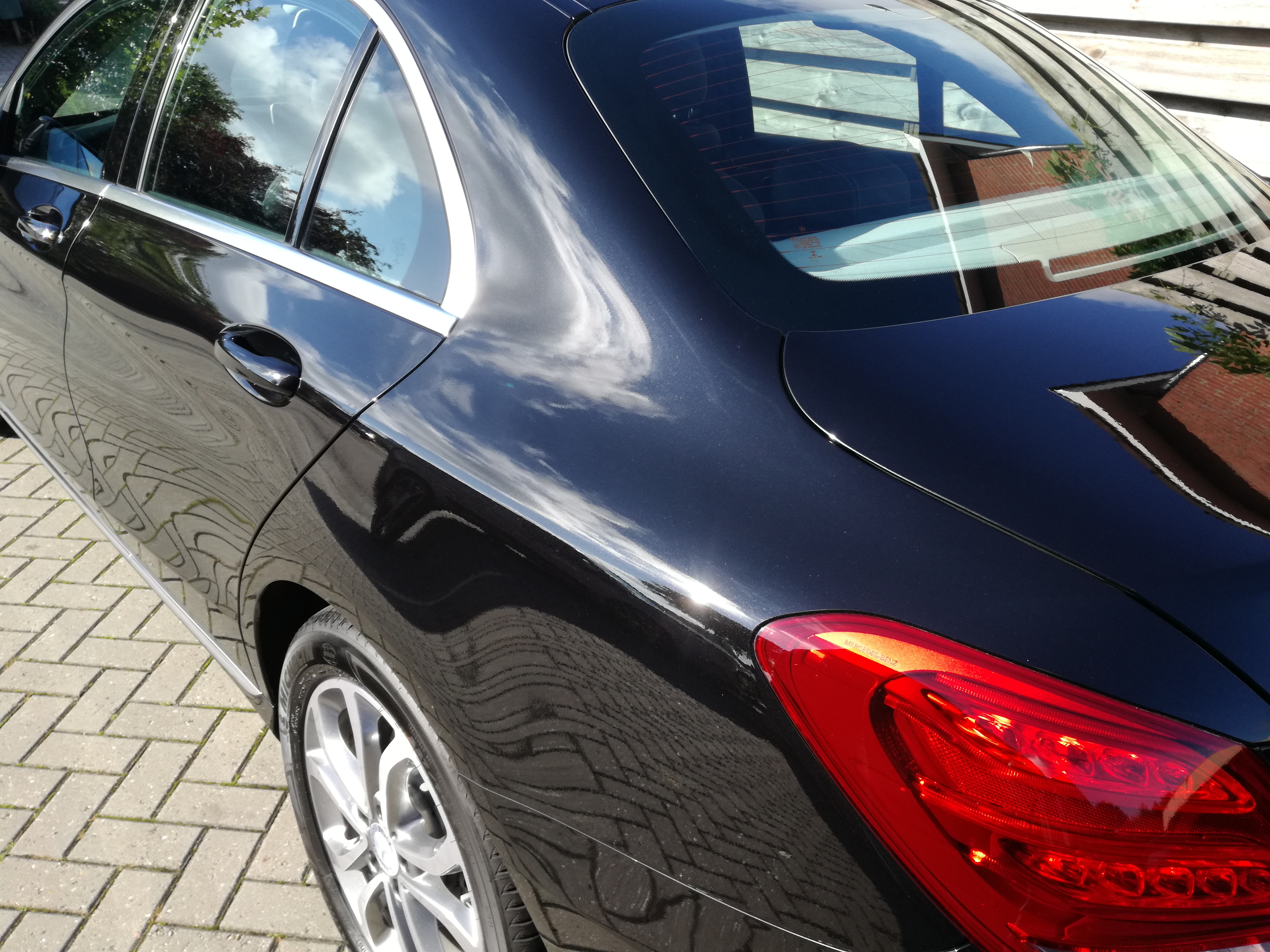 Mercedes c IGL ecocoat Poly glascoating